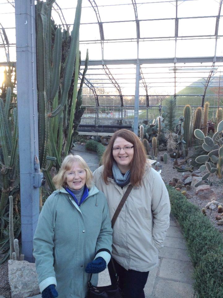 Angelina and her mum